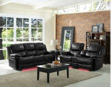 Power Recliner Console Loveseat