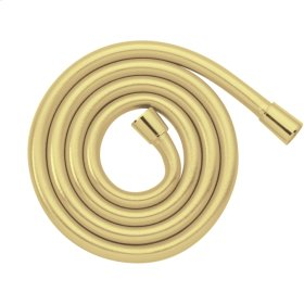 Polished Brass Techniflex Hose, 63""