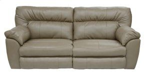 Power Extra Wide Recl Sofa - Putty