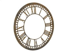 Metal Clock Face Relic