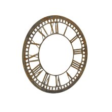 Metal Clock Face Relic