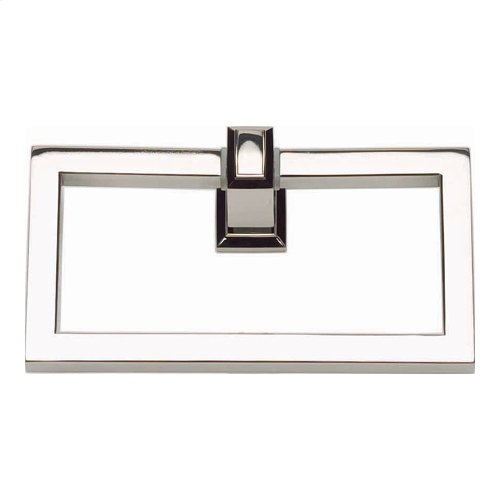 Sutton Place Bath Towel Ring - Polished Nickel