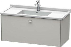 Vanity Unit Wall-mounted, Concrete Grey Matt Decor Product Image