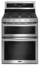 30-Inch Wide Double Oven Gas Range With True Convection - 6.0 Cu. Ft. Product Image