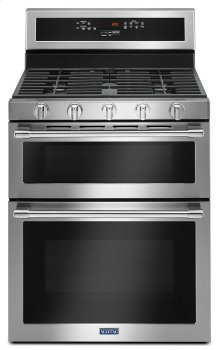 30-Inch Wide Double Oven Gas Range With True Convection - 6.0 Cu. Ft.