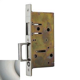 Satin Nickel 8603 Pocket Door Strike with Pull
