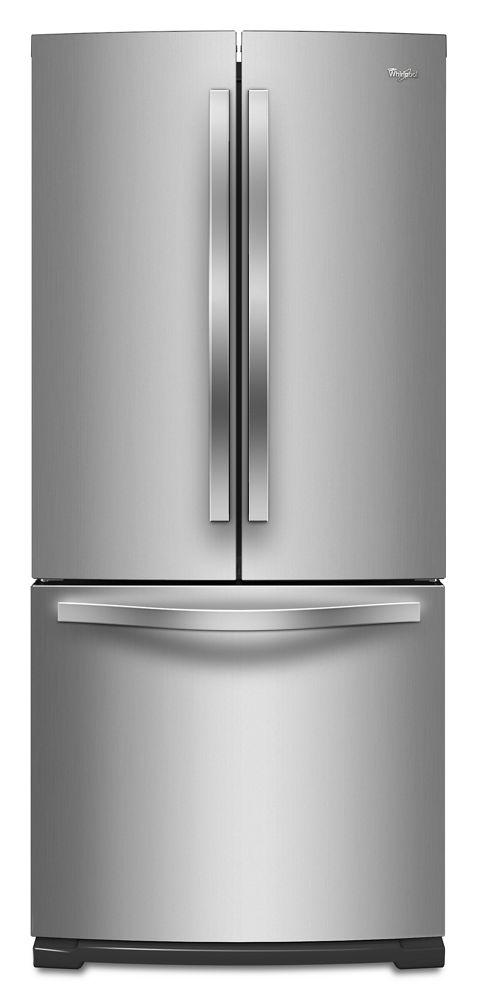 30 Inch Wide French Door Refrigerator   19.7 Cu. Ft. Hidden