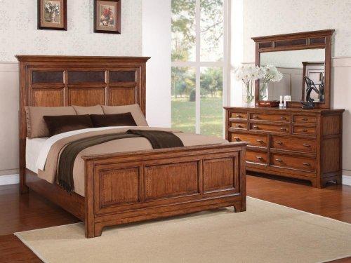 River Valley Queen Panel Bed