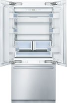 """Benchmark® 36"""" Built In French Door Bottom-Freezer Benchmark Series- Stainless Steel B36BT830NS Product Image"""