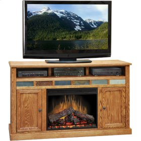 Oak Creek 62inch Fireplace