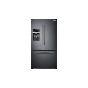Samsung Appliances28 cu. ft. Food Showcase 3-Door French Door Refrigerator in Black Stainless Steel