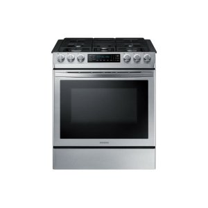 Samsung Appliances5.8 cu. ft. Slide-in Gas Range with Convection in Stainless Steel