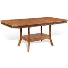 Sedona Dual Height Ext. Dining Table w/ Double Butterfly Leaves