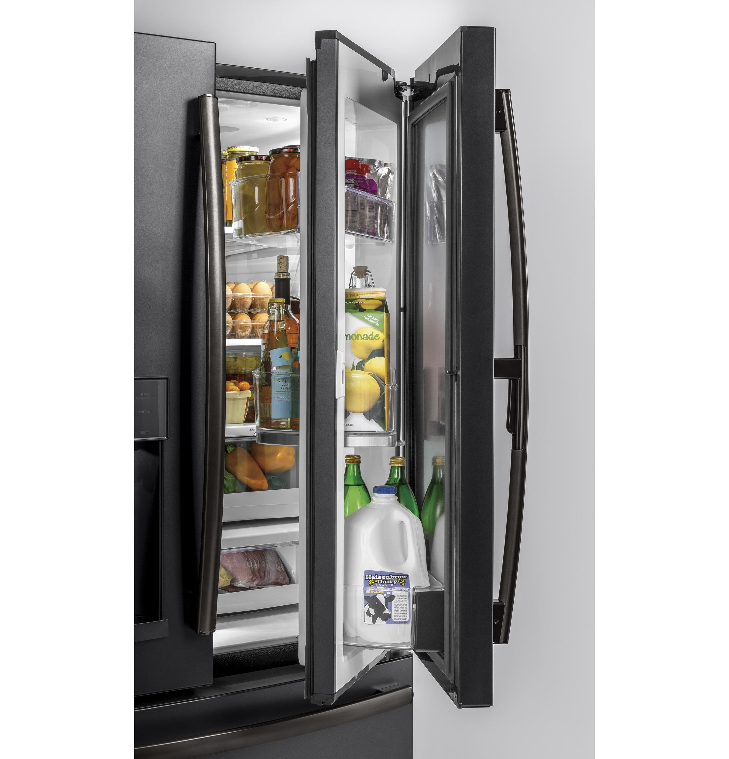 Hidden · Additional GE® 27.8 Cu. Ft. French Door Refrigerator With Door In  Door