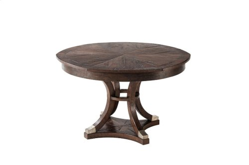 Devereaux Dining Table, Dark Echo Oak