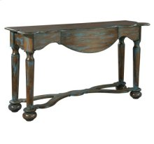 Distressed Blue Console
