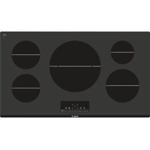 "BoschSerie  6 36"" Induction Cooktop 800 Series - Black NIT8666UC"