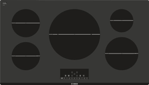 """Serie  6 36"""" Induction Cooktop 800 Series - Black NIT8666UC"""