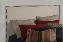 Megan Queen Headboard - Sandstone Linen