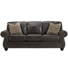 Benchcraft Breville Sofa in Charcoal Faux Leather [FBC-8009SO-CH-GG]