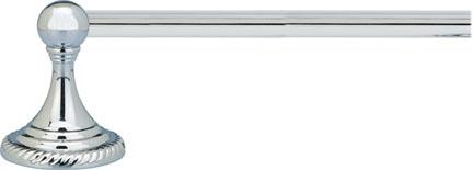 Polished Chrome Towel Bar