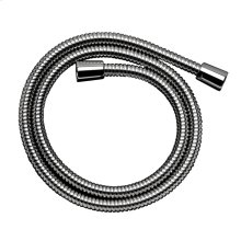Chrome Metal Showerhose, 63""