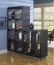 L Shape Black Wall Unit