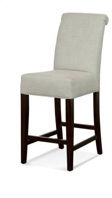 "Roll Back 24"" barstools have a seat height of 26"" when measured"