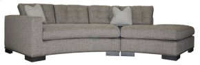 Bennett Left Arm Curved Button Sofa W180B-LAJ