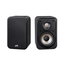High Resolution Home Theater Compact Satellite Surround Speaker in Black