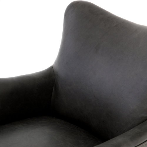Natural Washed Ebony Cover Desmond Chair
