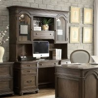 Belmeade - Credenza - Old World Oak Finish Product Image