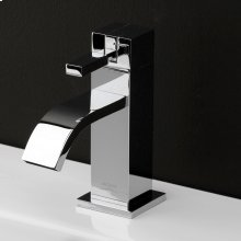 Deck-mount single-hole faucet featuring natural water flow with pop-up. ADA compliant.