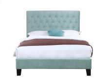 Emerald Home Amelia Upholstered Bed Kit Full Light Blue B128-10hbfbr-04