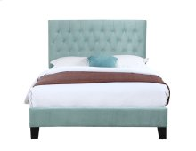 Emerald Home Amelia Upholstered Bed Kit Queen Light Blue B128-10hbfbr-04