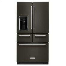 "*SCRATCH AND DENT* 25.8 Cu. Ft. 36"" Multi-Door Freestanding Refrigerator with Platinum Interior Design - Black Stainless Steel with PrintShield™ Finish"