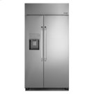 "Discovery 42"" Built-In Side-by-SideRefrigerator, in Stainless Steel with Pro Style Handle Product Image"