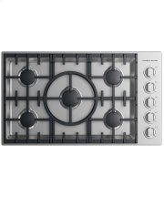 "Gas Cooktop 36"", 5 burner Product Image"