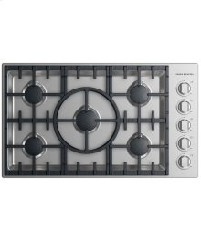 "Gas Cooktop 36"", 5 burner"