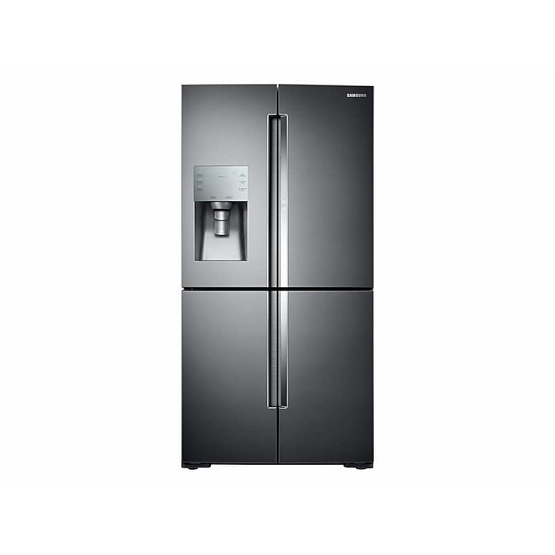 28 cu. ft. Food Showcase 4-Door Flex™ Refrigerator with FlexZone™ in Black Stainless Steel