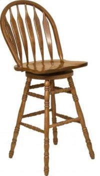 "30"" Colonial Windsor Bowback Barstool Product Image"