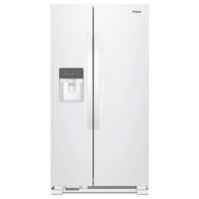 Whirlpool® 33-inch Wide Side-by-Side Refrigerator - 21 cu. ft. - White