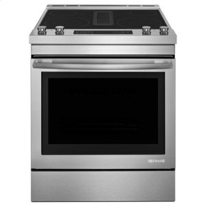 "Jenn-AirJenn-Air® 30"" Electric Downdraft Range - Stainless Steel"