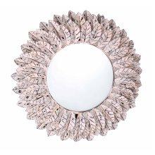 Pile Pink Distressed Mirror