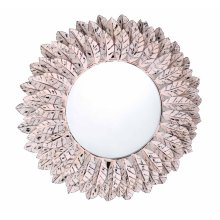 Pile Pink Distressed Mirror