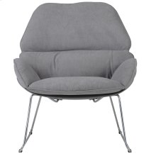 Finn Accent Chair in Dark Grey