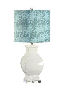 Bordered Urn Lamp
