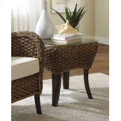 Sanibel End Table w/glass