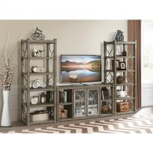 Dara Two - Etagere - Gray Wash Finish
