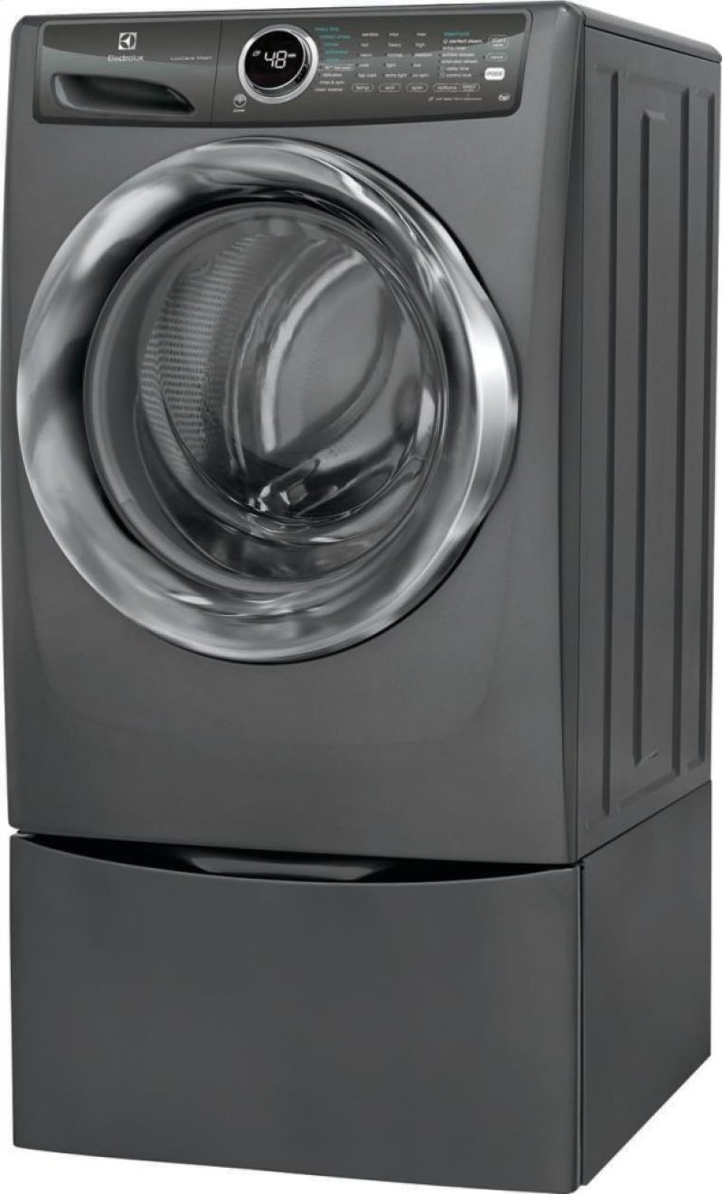 Efls527utt In Titanium By Electrolux Portland Ct Front Load Washing Machine Motor Wiring Diagram Share The Knownledge Hidden Additional Perfect Steam Washer With Luxcare Wash 43 Cu